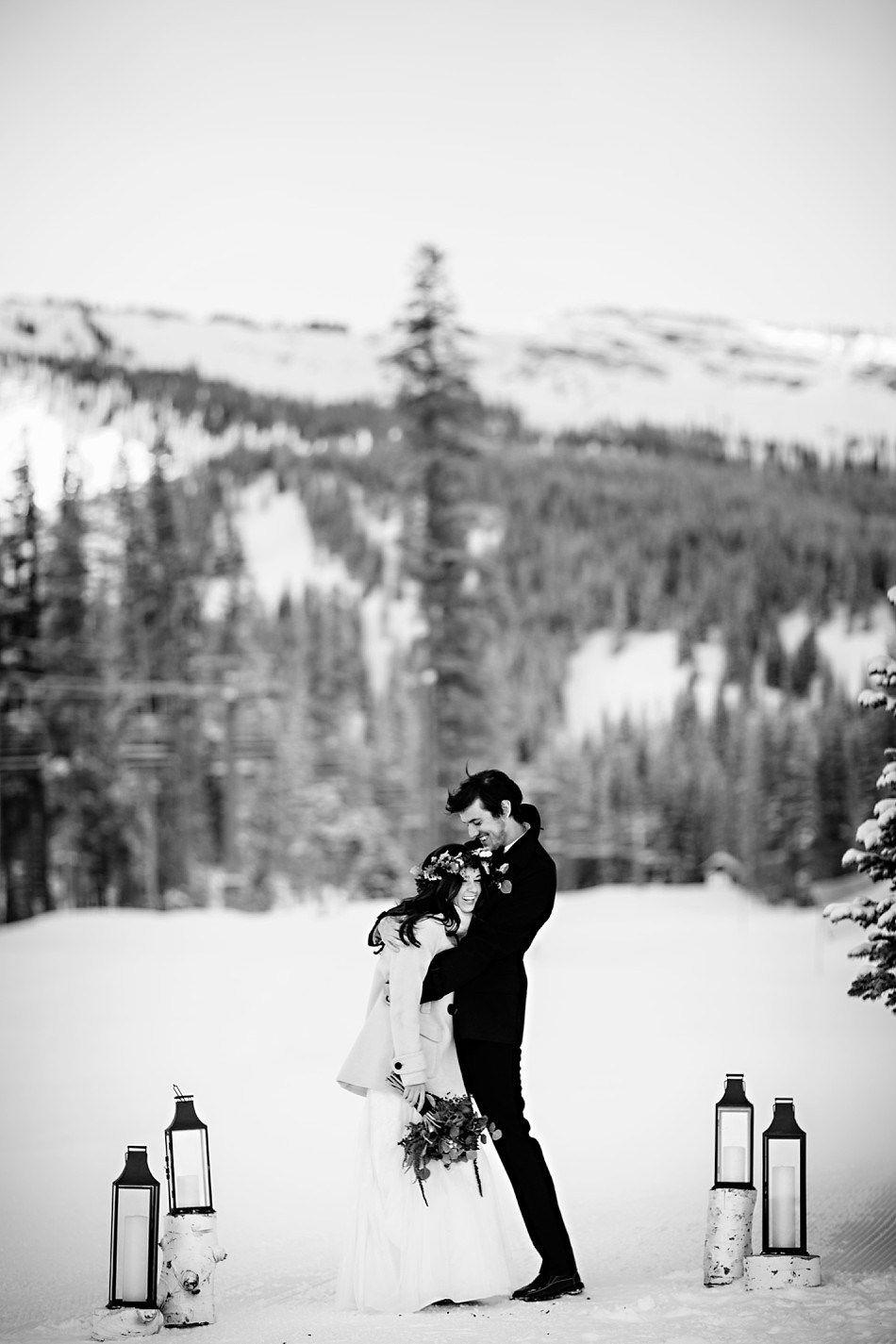 Winter Wedding Photos in Snowmass Colorado Jason+Gina Wedding Photographers http://www.jason-gina.com #wedding #aspen #snowmass