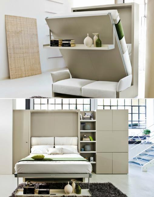 22 Space Saving Furniture Design Ideas Transformer Furniture Design To Maximize Small Rooms Space Saving Furniture Furniture For Small Spaces Furniture Design