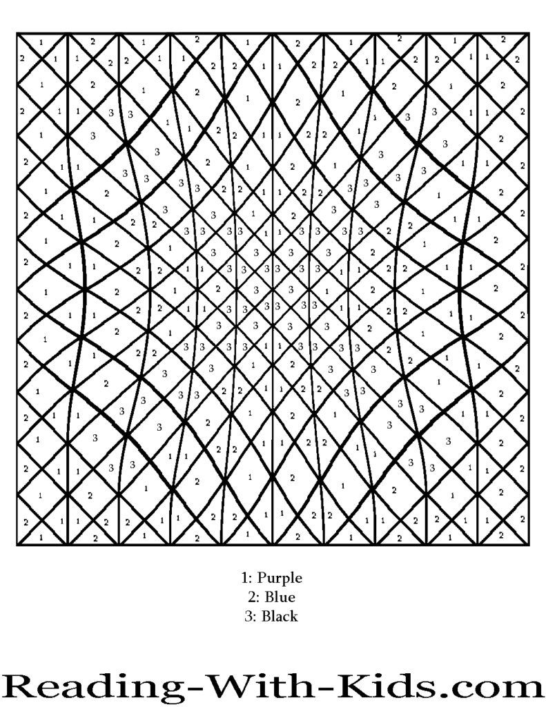 printable number coloring pages Coloring Pages: Difficult Color By Number Printables Az Coloring  printable number coloring pages