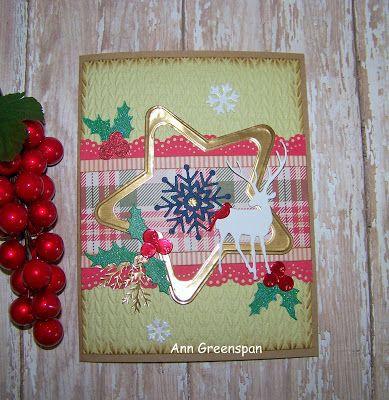 Ann Greenspan's Crafts: ABC Christmas Challenge