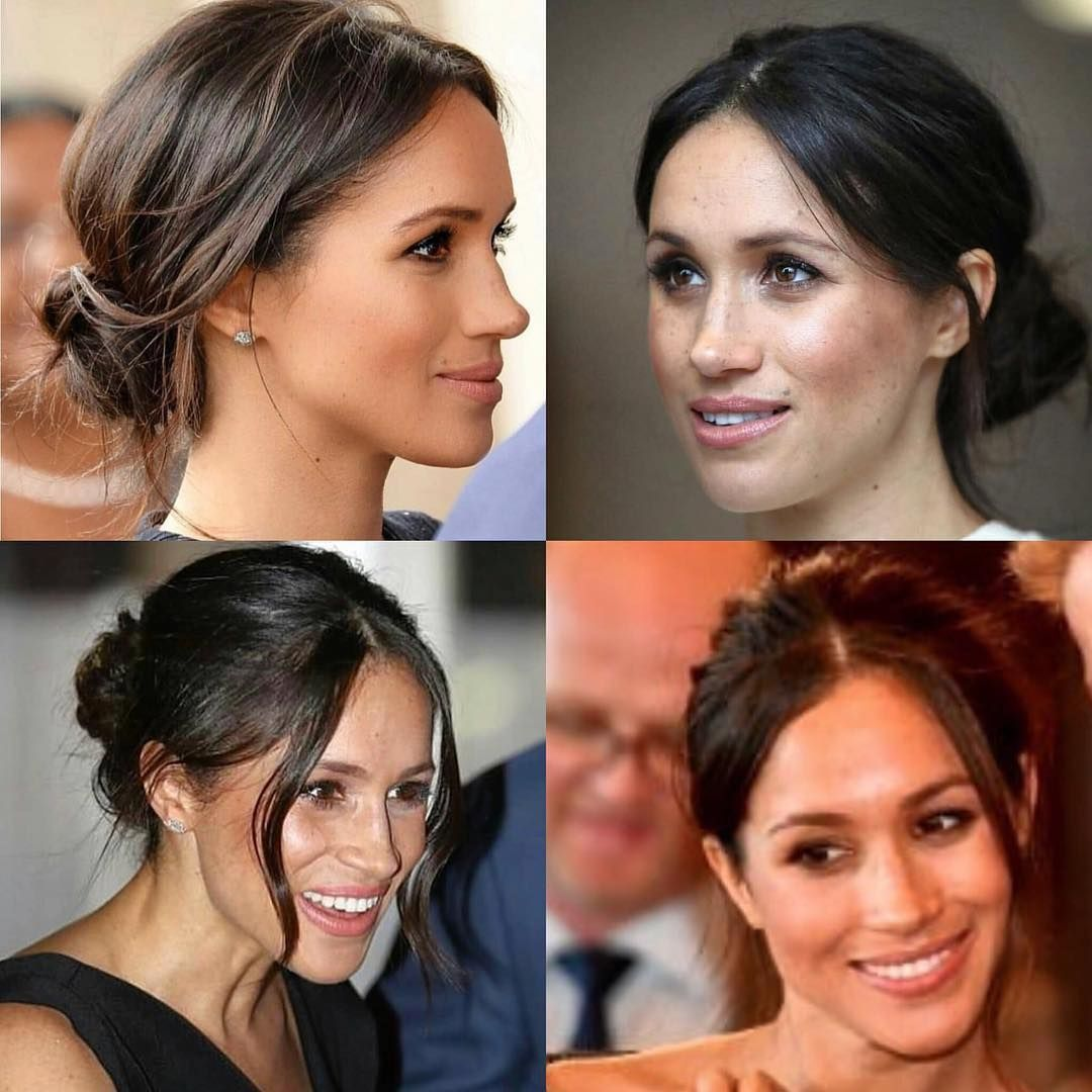 Only Like The Top Right Others Are How Not To Do Meghan Markle Hair Royal Hairstyles Wedding Hairstyles Bridesmaid