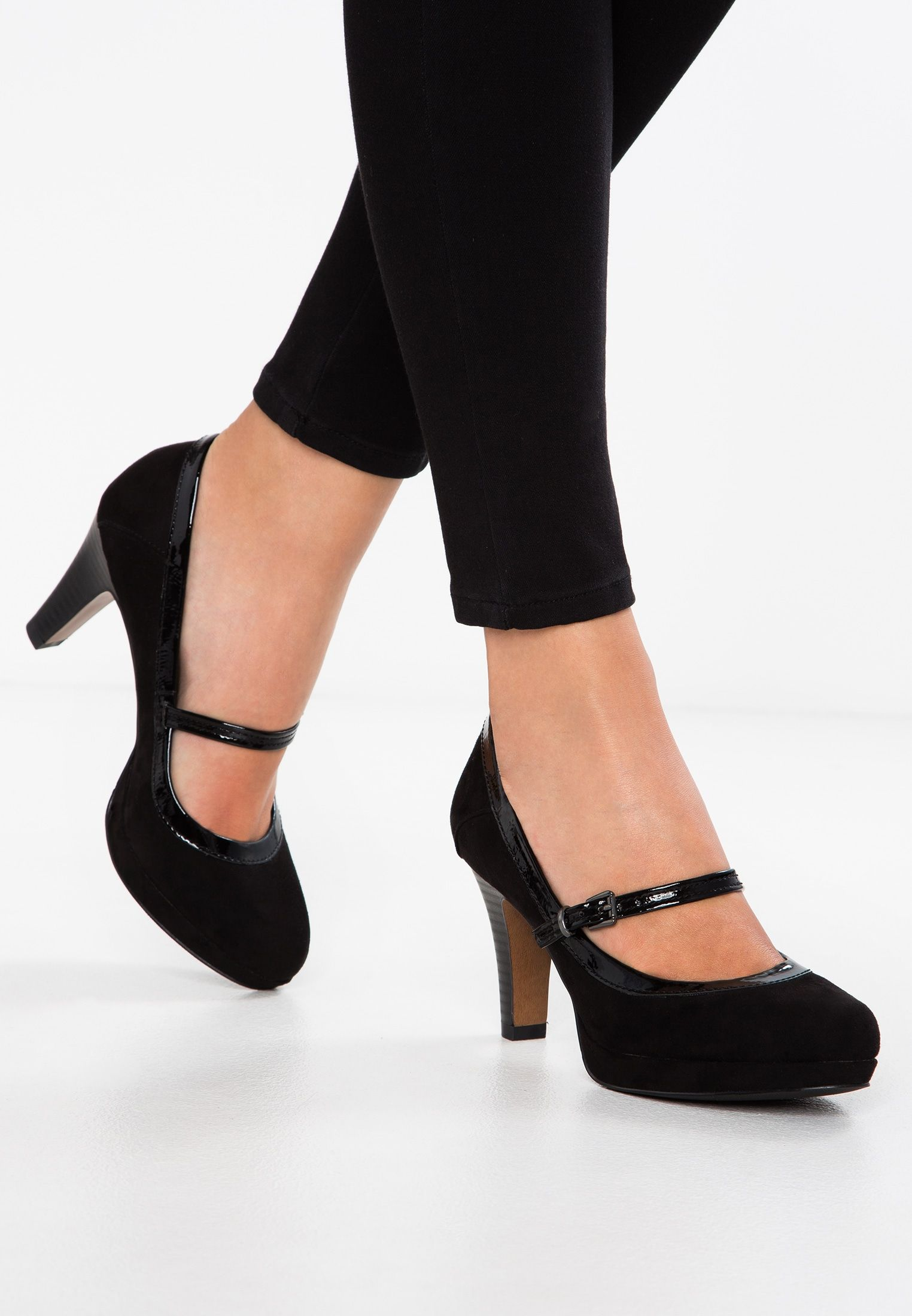 newest 2514e 08519 Platform heels - black @ Zalando.co.uk 🛒 in 2019 | Wedding ...
