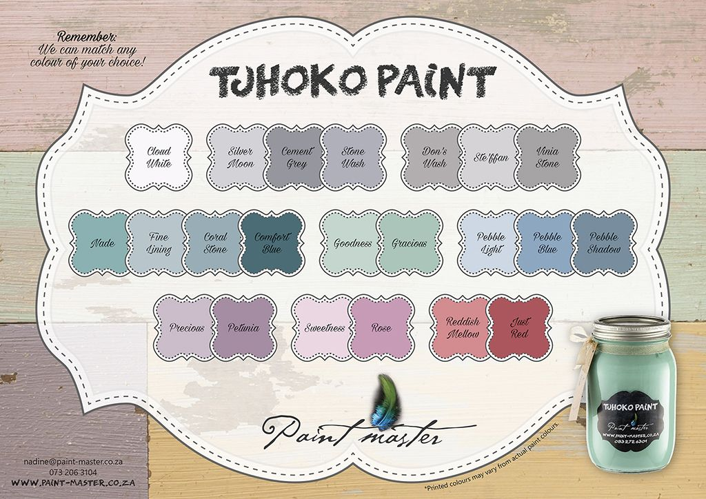 Tjhoko Paint By Paint Master Chalk Paint Painting Flooring