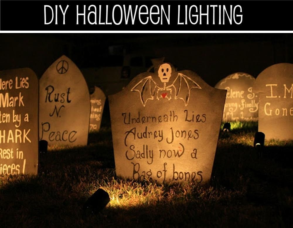 its written on the wall fun halloween games and decorations inside and outside - Halloween Outside Games