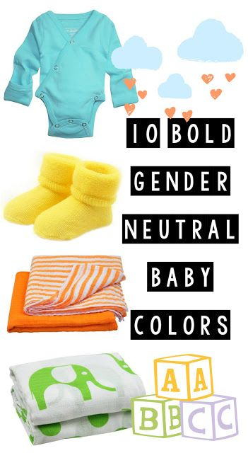 Quirky Bohemian Mama 10 Bold Gender Neutral Baby Colors Uni Clothes More