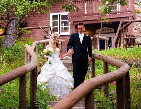 Another Wedding Shot Of Pine Hills Lodge In Julian Ca