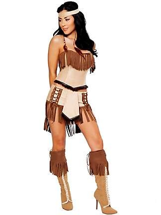 Womens Sexy Cherokee Indian Costume Native Americans Are Not Characters And Considering That They Are More Likely To Be Sexually Assaulted Than
