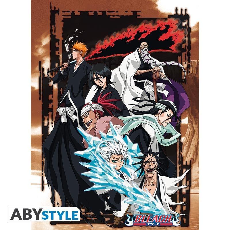 Bleach poster shinigami group 52x38 bleach episodes