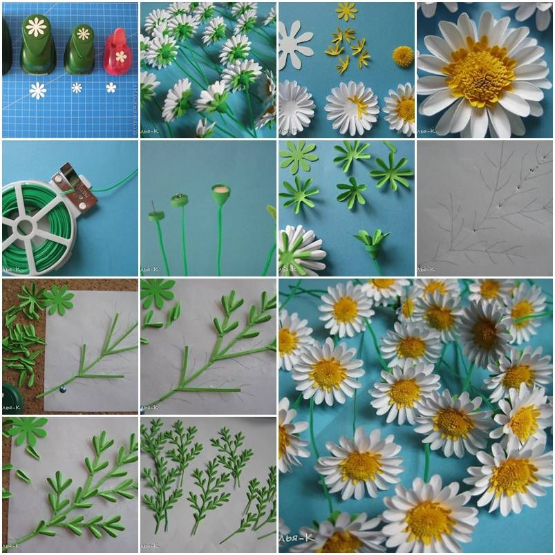 How to make paper daisies step by step diy tutorial instructions how to make paper daisies step by step diy tutorial instructions how to how mightylinksfo Images