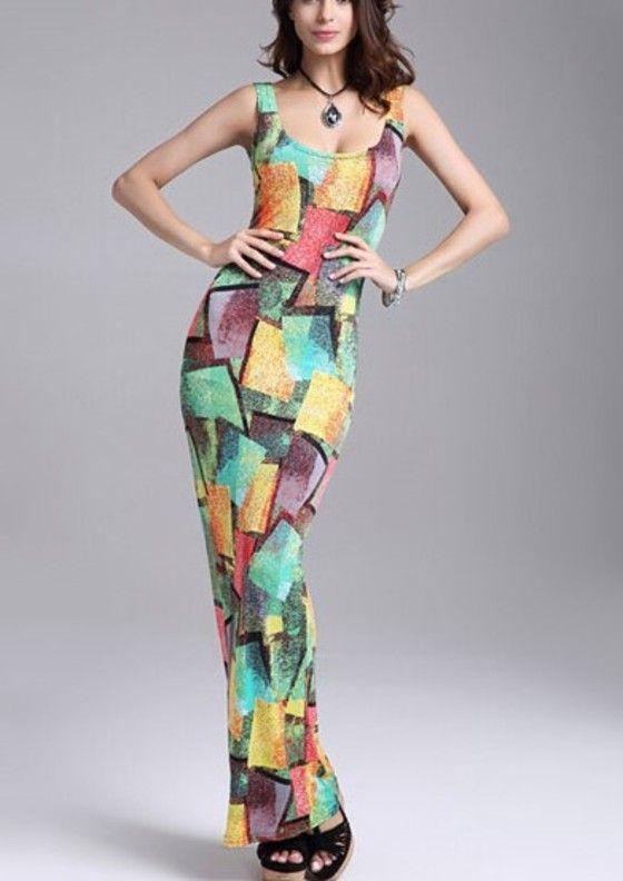 Green maxi dress online india