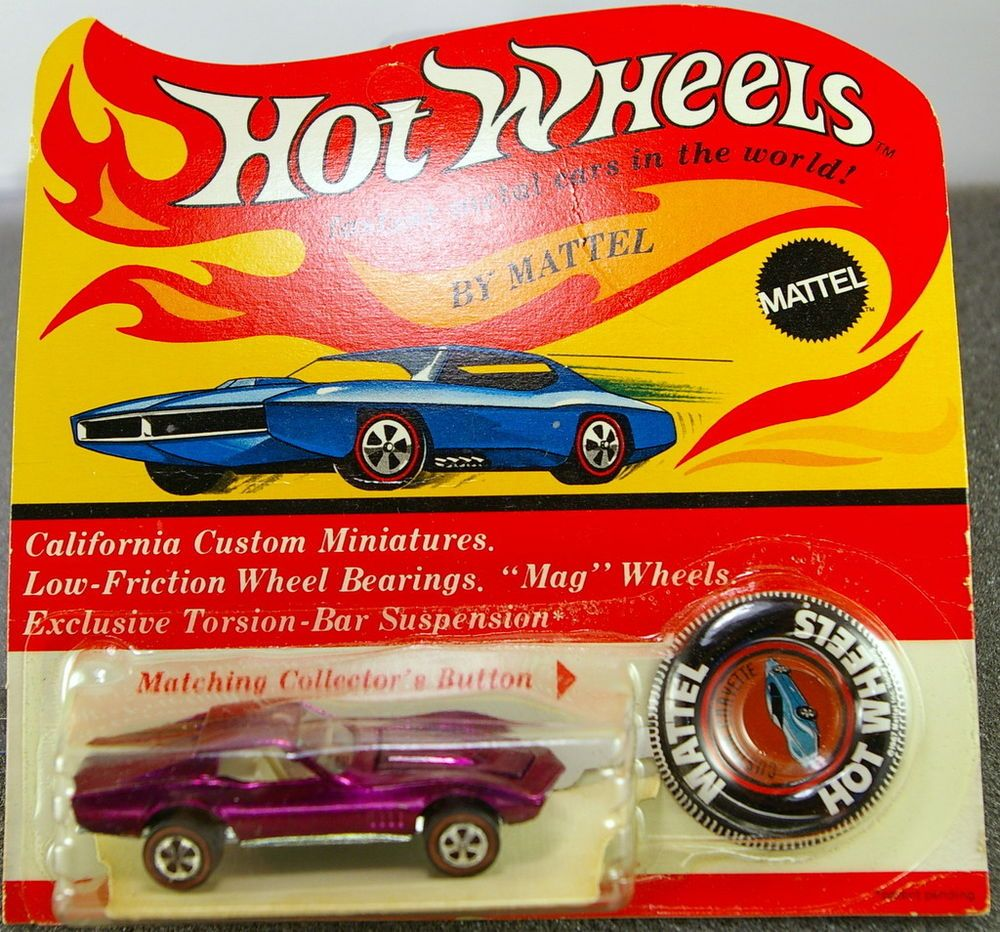 Hot wheels blackwall spider man web spider car hk superb ebay - Hot Wheels Redline 68 U S Magenta Custom Corvette In Blister Pack Incredible