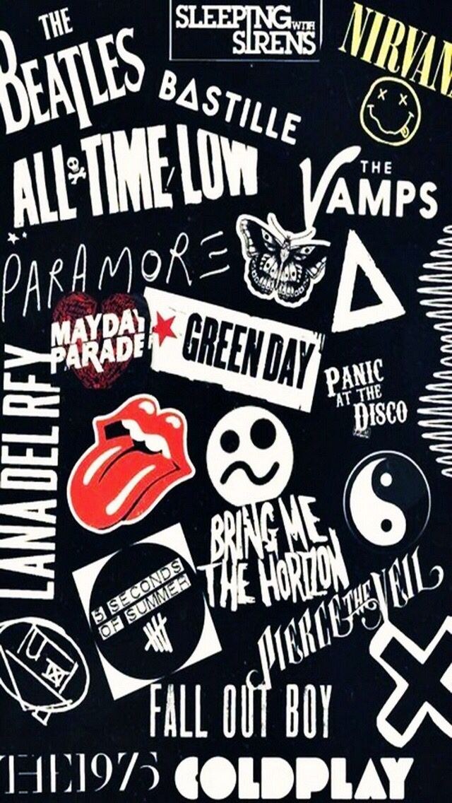 Pin By Makayla On Music Band Wallpapers Tumblr Iphone Wallpaper