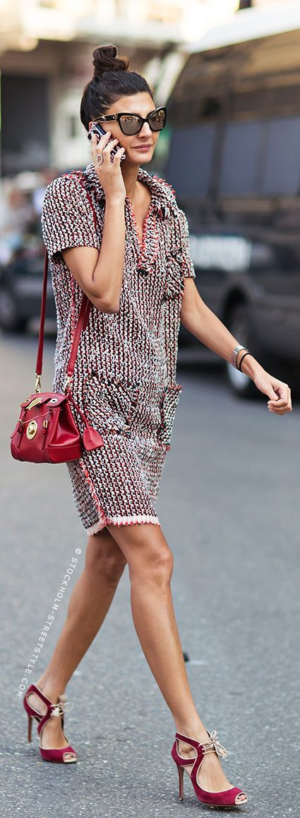 Street Style -Giovanna Battaglia... style icon