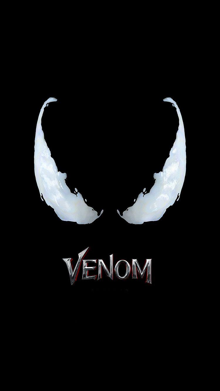 Bg48 Dark Venom Film Hero Poster Logo Art Yenilmezler Venom Marvel