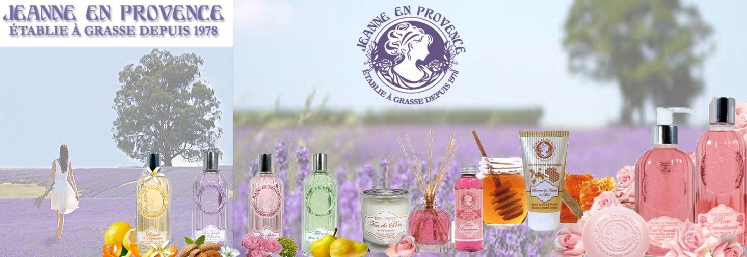 Jeanne en provence Beauty shop online, Online beauty