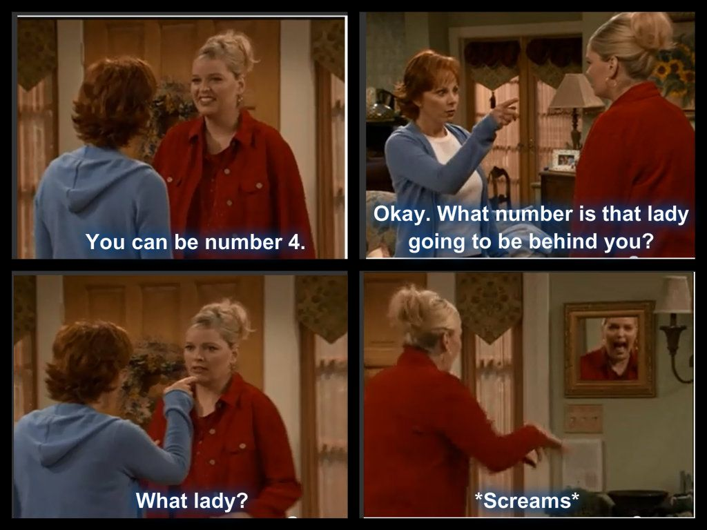 Reba and Barbra Jean quote season 3 The Reba Show Tv