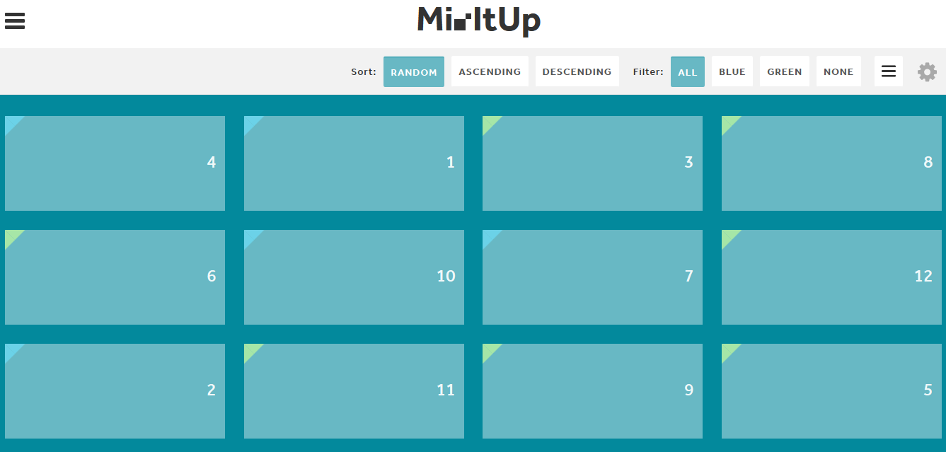Mixitup Animated Filtering And Sorting Plugin, #animation, #code, #filter,