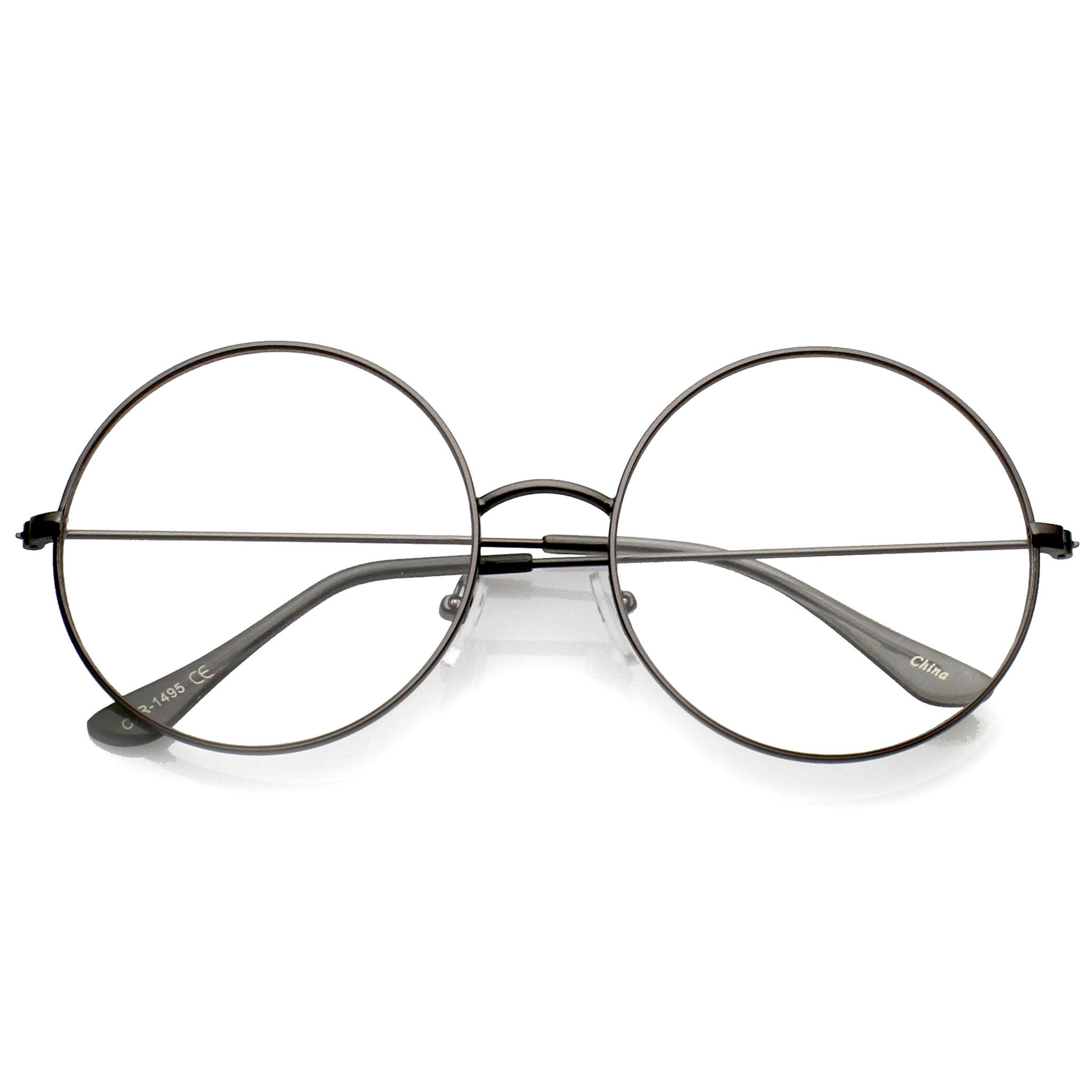 Modern Slim Round Clear Lens Dapper Glasses C143 | Products ...