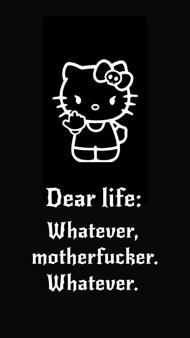 Download P****d Kitty wallpaper by RedFireLady 8c Free