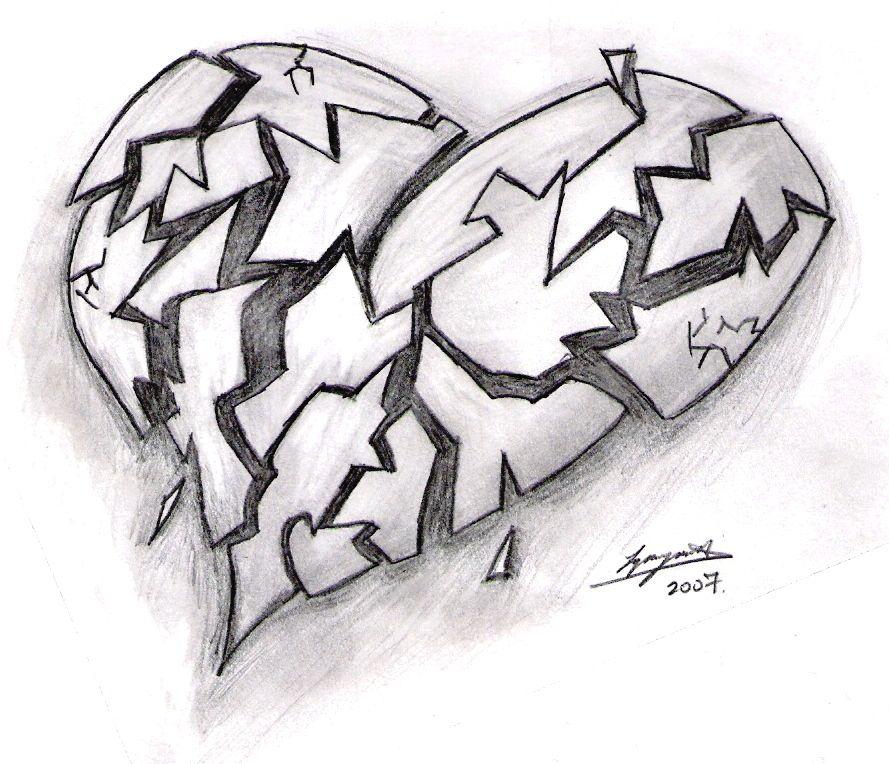 Broken Heart Drawings Google Search Tha110 Eurydice Group 7