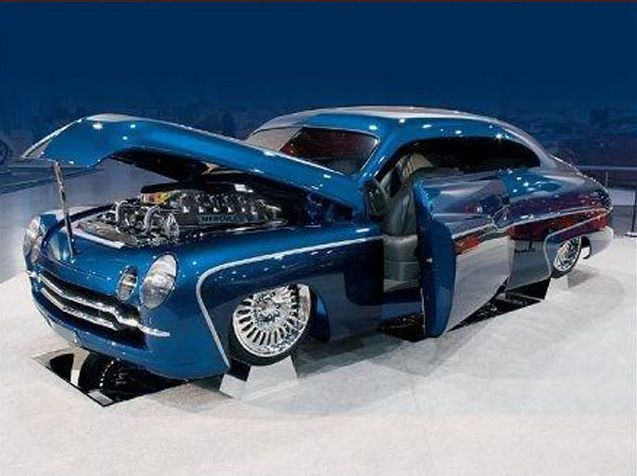 old custom cars | custom is a 1950 Mercury called the Mercules . This particular custom ...