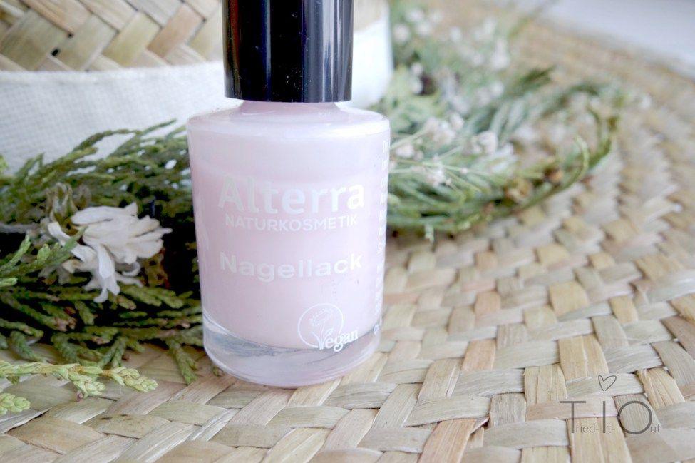 Mein Nagellack-Allrounder: 01 Rose Blossom von Alterra.
