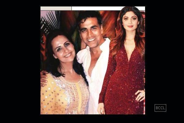 Asin wedding reception: Akshay celebrates with Shilpa