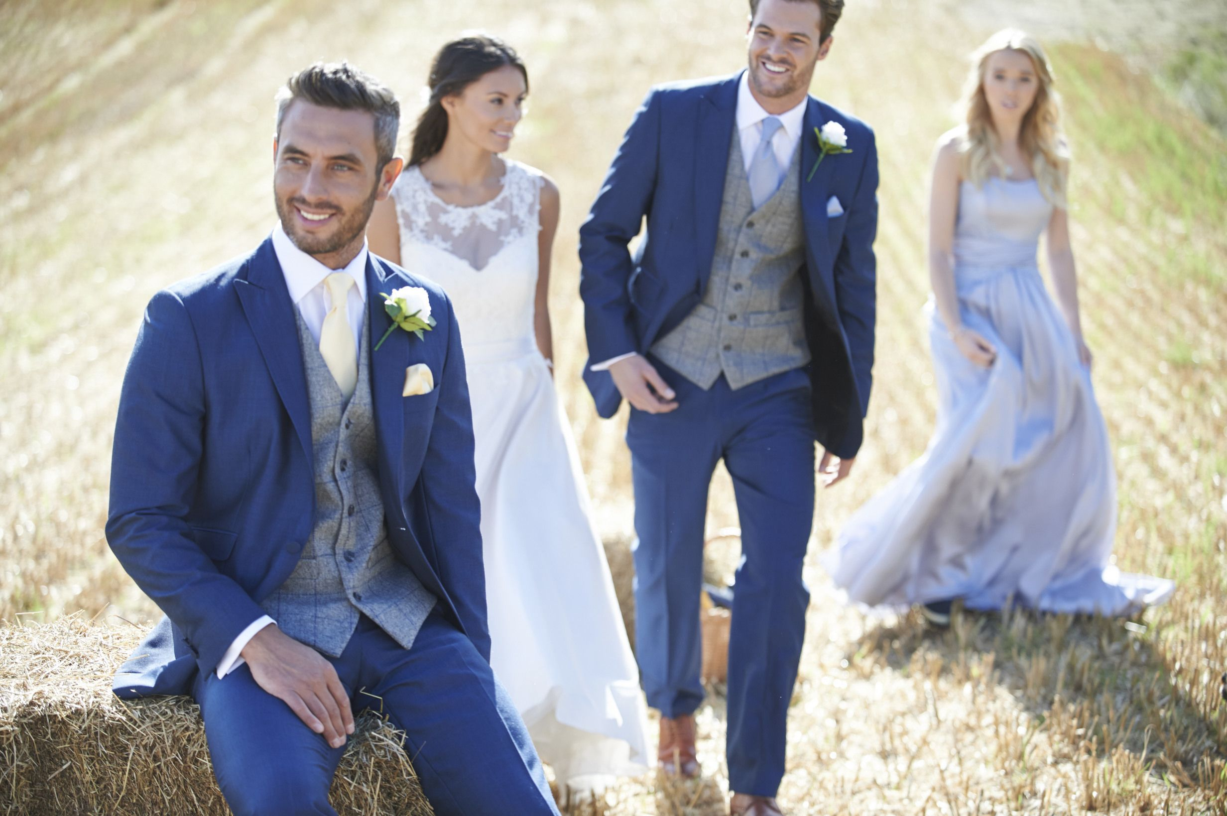 blue suit grey waistcoat - Google Search | Wedding research ...