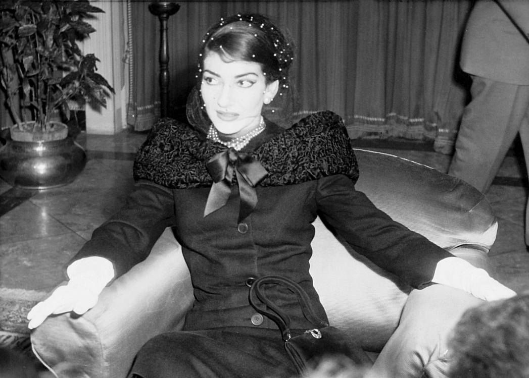 "Maria Callas, 1956 ""I am not an angel and do not..."