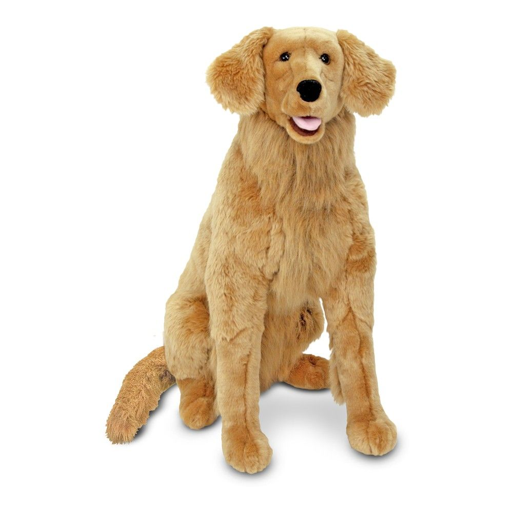 Melissa Doug Giant Golden Retriever Lifelike Stuffed Animal