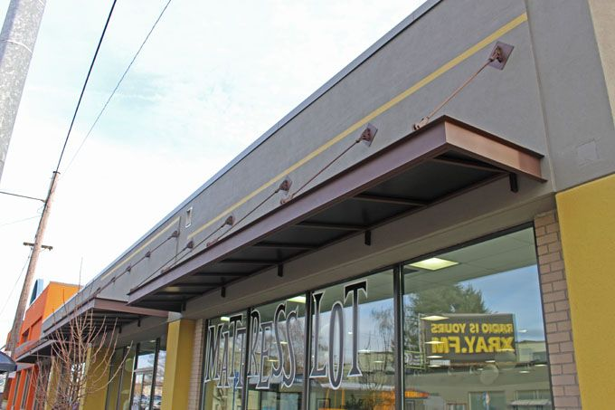 steel awning awnings stainless brooklynstainlesssteel com bss brooklyn