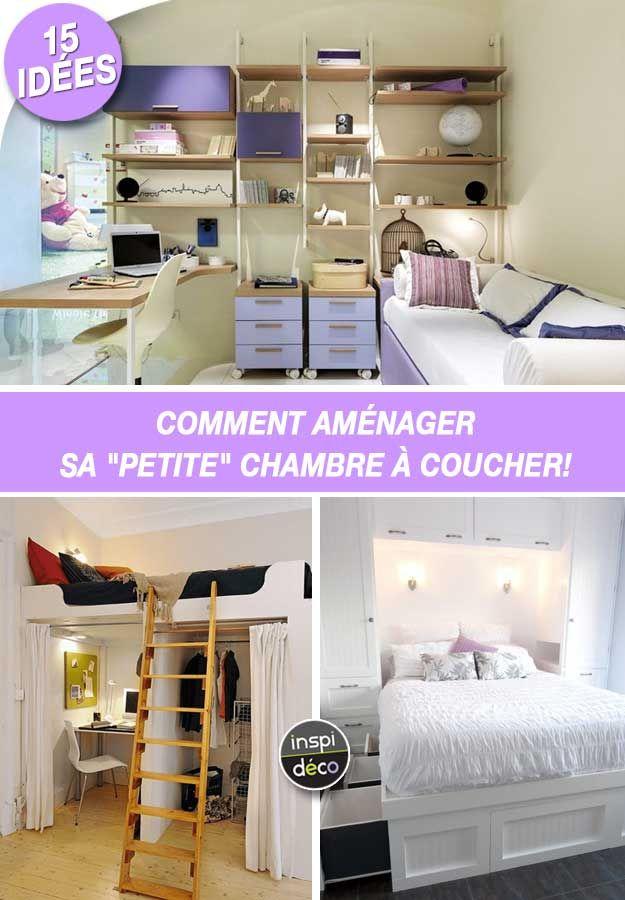Comment am nager sa petite chambre coucher 15 id es inspirantes design house comment - Amenager sa chambre en ligne ...