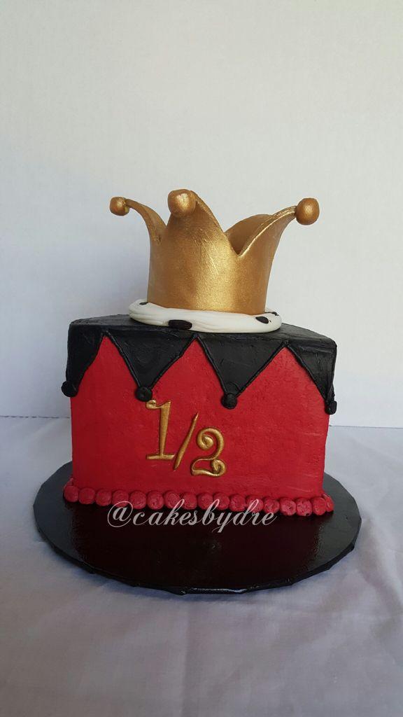Custom Half Birthday Cake Topper Glitter 6 Months