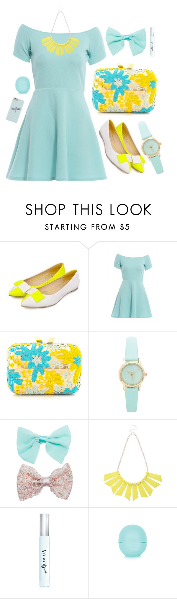 """""""Untitled #31"""" by ansdiaz ❤ liked on Polyvore featuring Nouvelle Footwear, AX Paris, KOTUR, Wet Seal, Oasis, Kate Spade and Topshop"""