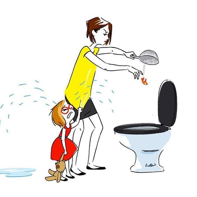 Dis maman mot d 39 enfant mignon drole illustration for Table enfant rouge