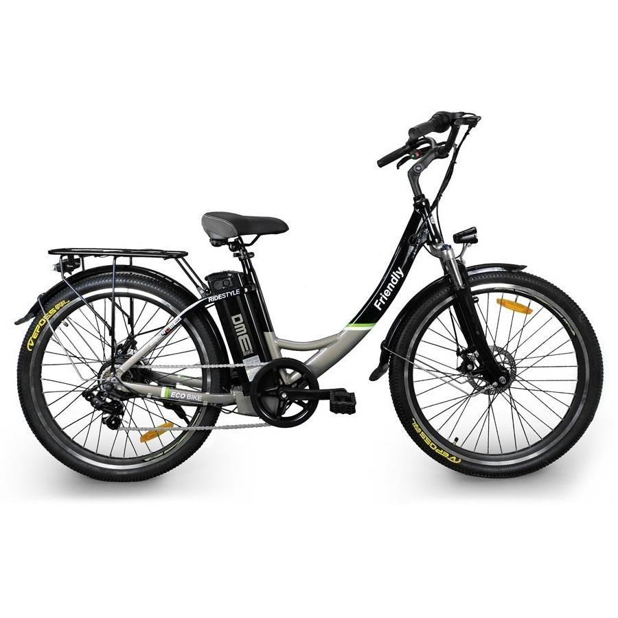 Bici Elettrica Da Passeggio 26 Pedalata Assistita Olandese Friendly