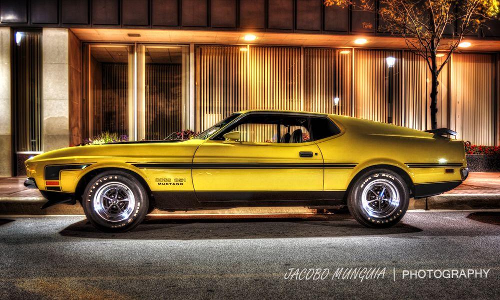 1971 Boss 351 Mustang Hdr Flickr Photo Sharing Mustang Cars Mustang Muscle Cars