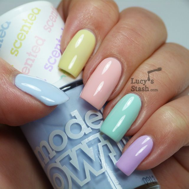 Lucy S Stash Models Own Fruit Pastel Collection Yellow Nails Pastel Nails My Nails