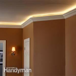 How To Install Elegant Cove Lighting Bedroom Lighting Diy Ceiling Light Design Home Lighting