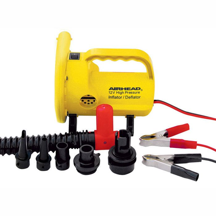 Airhead 12 Volt High Pressure Air Pump With Pressure Release Valve Produces 3 Times The Pressure Of Other 12 Volt Portable Air Pump Pressure Pump Air Pump