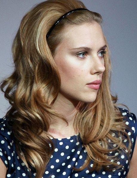 Scarlett Johansson Bouffant - Scarlett Johansson Hair click photo