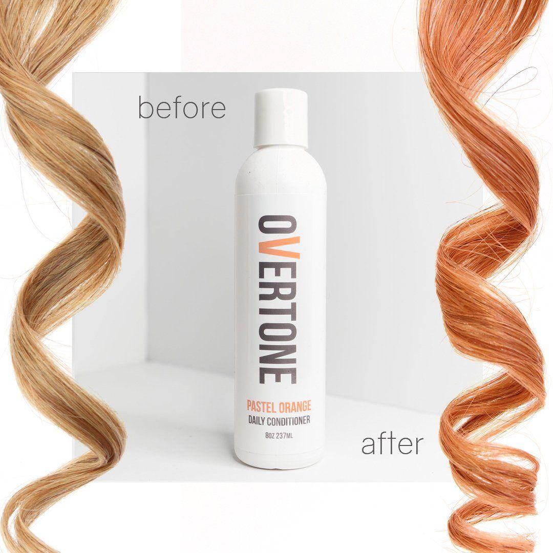 Pastel Orange Daily Conditioner Daily Conditioner Blond Shampoo
