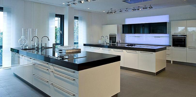 Large island large modern kitchens pinterest large for Large kitchen designs