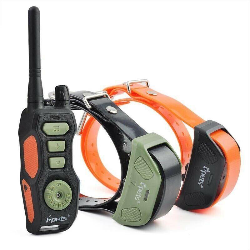 Ipets Pet618 2 E Collar Ebay Dog Shock Collar Training Collar