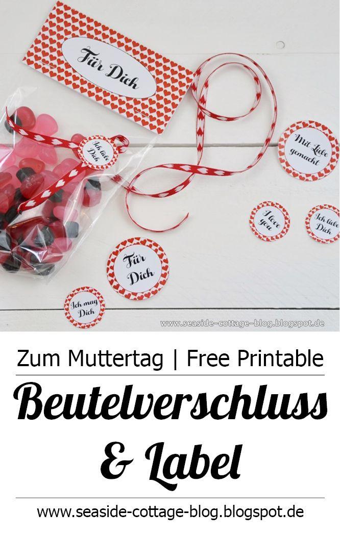 Freebie Zum Valentinstag Und Muttertag: Mit Liebe Schenken