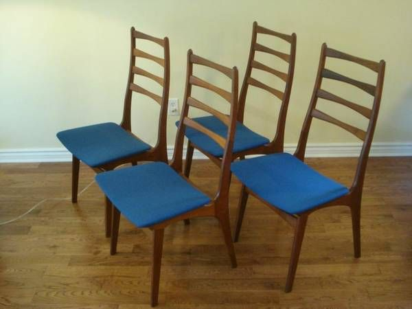 Toronto Teak Dining Chairs $550