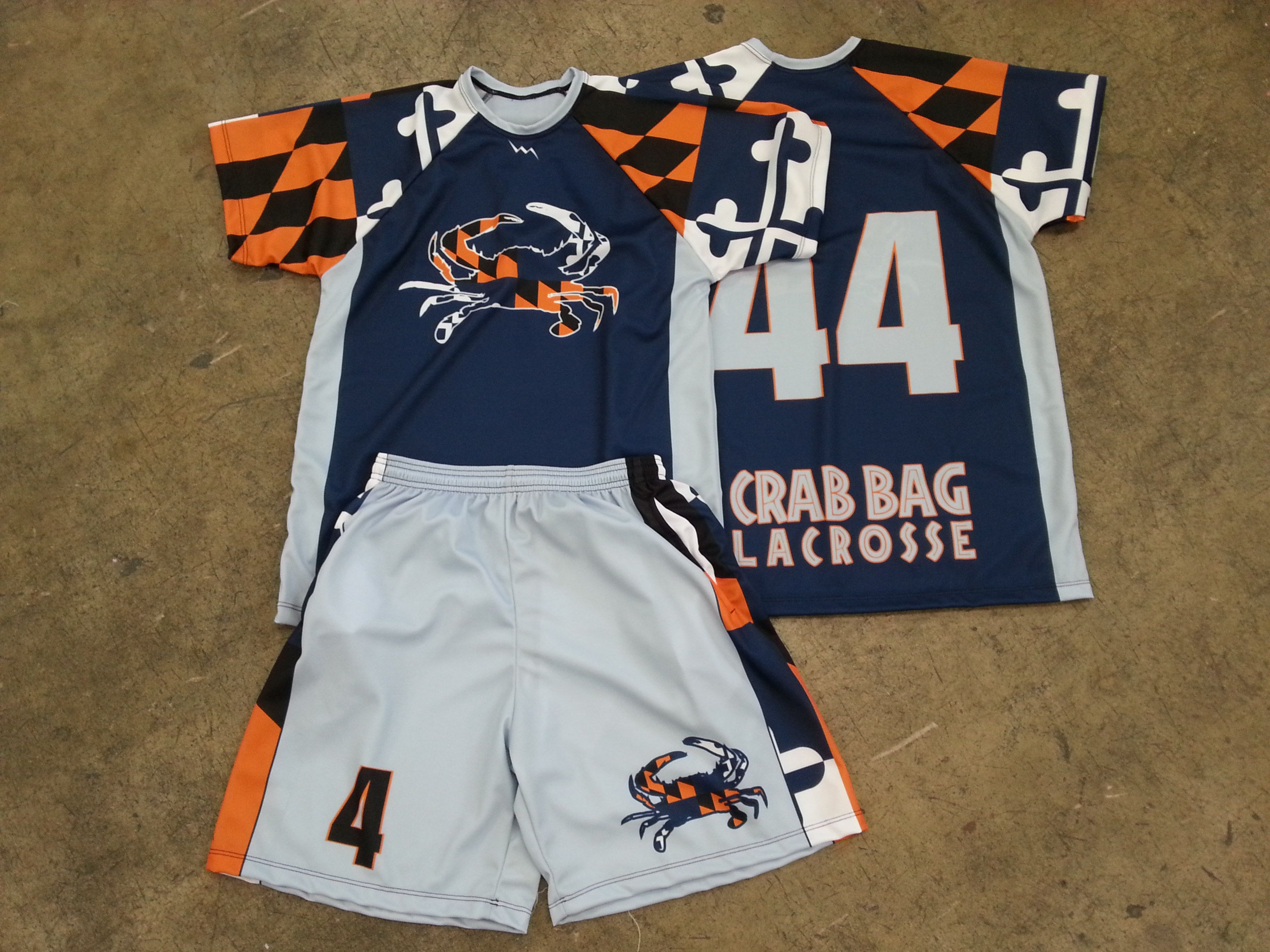 Design your own t shirt made in usa - Ocean City Maryland Lacrosse Tournament Uniforms Ocmd From Lightning Wear Lax Uniforms Usa Made From The Most Reliable Source
