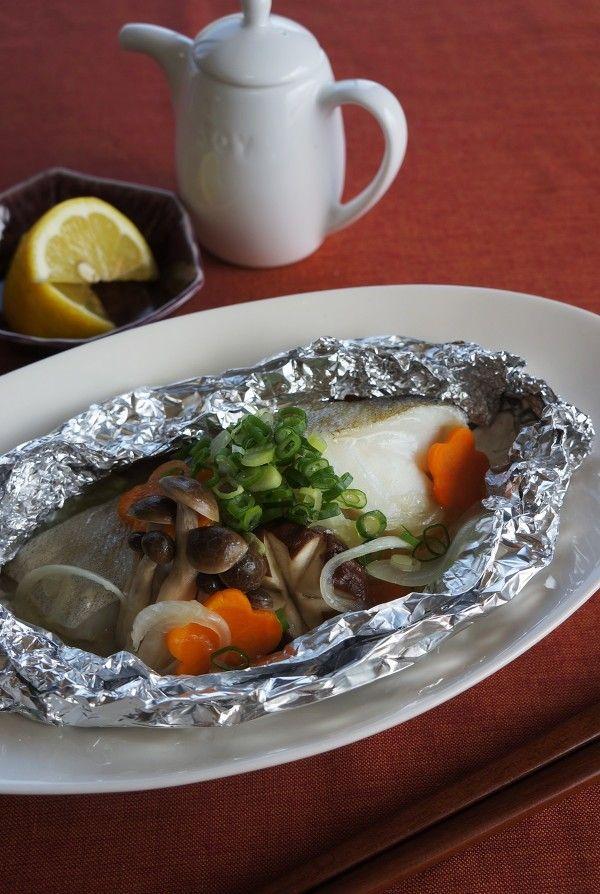タラのホイル焼き by 松井さゆり レシピサイト nadia ナディア プロの料理家のおいしいレシピ レシピ レシピ 料理 レシピ ホイル焼き