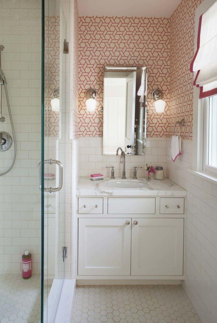 Modern Farmhouse Girl S Bath Organic Interiors Beautiful