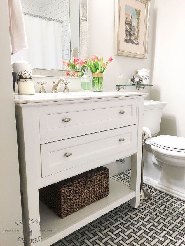 Diy Bathroom Remodel List bye-bye builder's grade - bathroom renovation | vanities, home